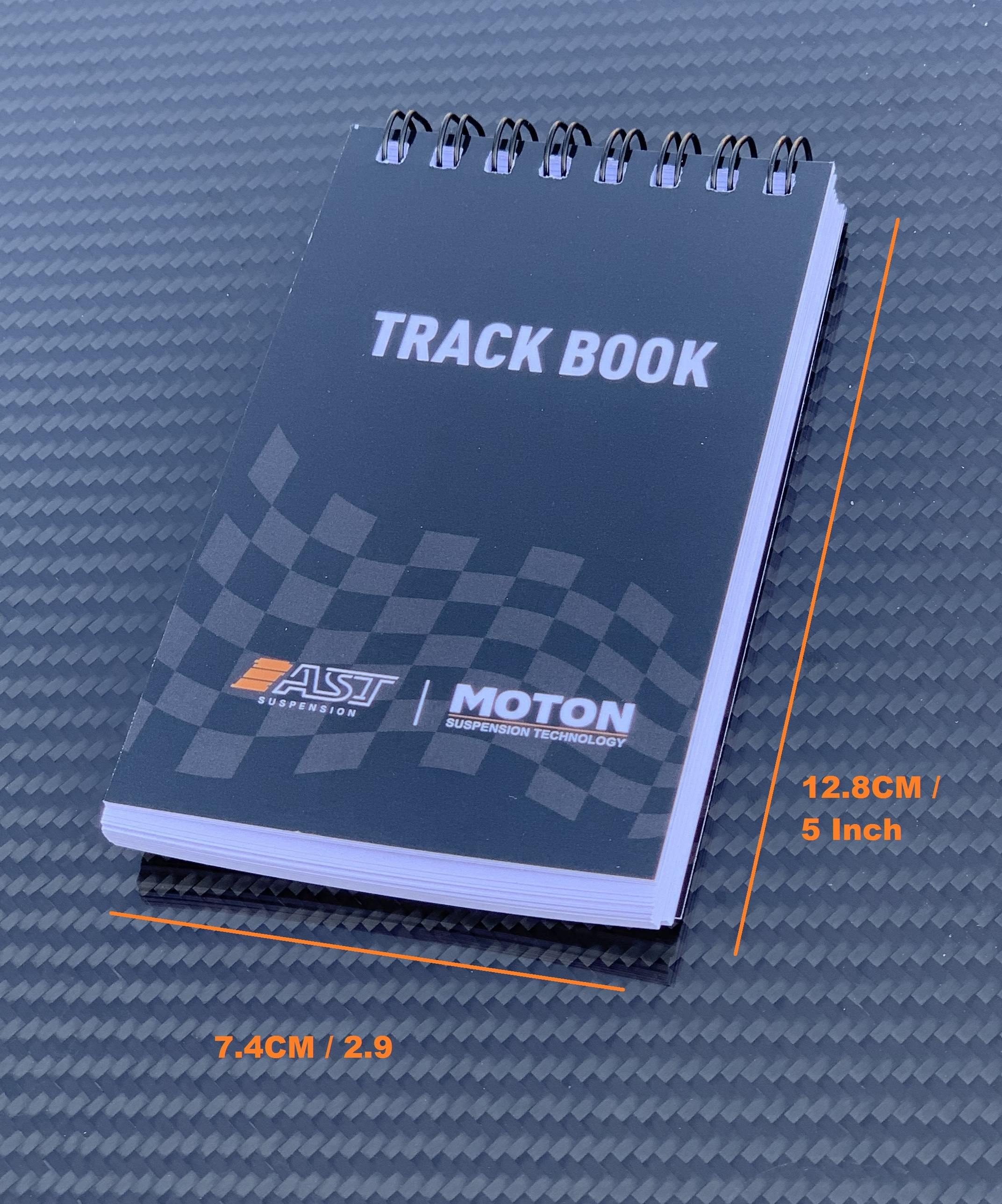 Track Book AST MOTON size