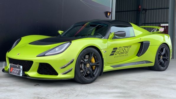 Lotus Exige MK3 on AST suspension